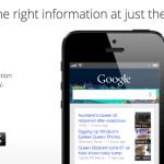 Google Now hadir di iOS