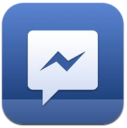Logo Facebook Messenger iPhone