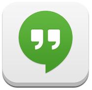 Logo:Icon Hangouts dari Google di iOS