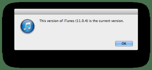 iTunes Sudah Update ke 11.0.4