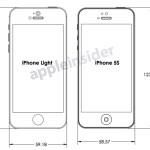 Sket Depan iPhone 5S dan iPhone Light.jpg