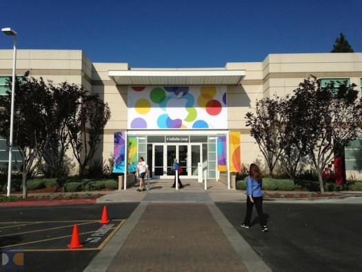 Gedung Lokasi Apple Event 2013 - iPhone 5S