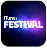 Logo iTunes Festival App