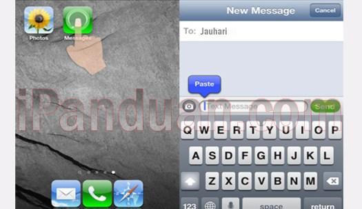 iPhone, iOs, Share foto