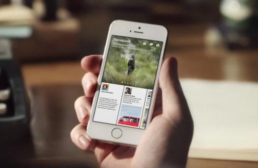 Facebook, Aplikasi iOS