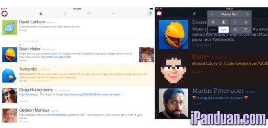 Aplikasi twitter untuk iOS