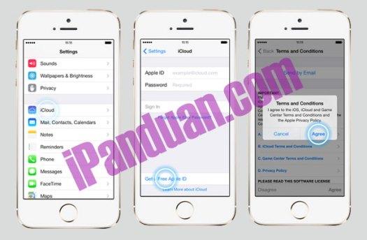 Cara Mudah Membuat Akun Icloud Di Iphone 5s Idevice