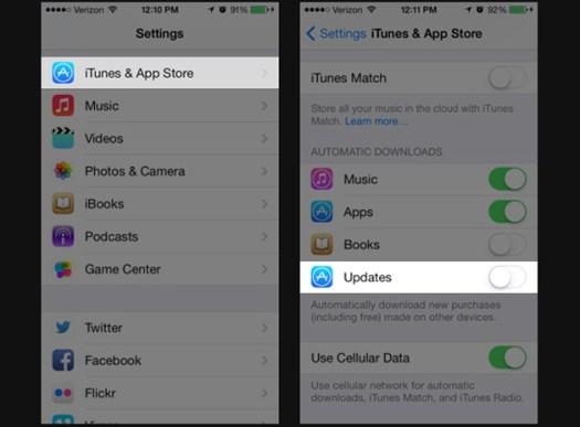 otomatis update, update aplikasi iOS, download aplikasi