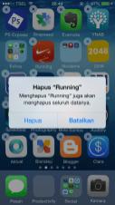 Cara Hapus Aplikasi iOS (iPhone iPad) Konfirmasi