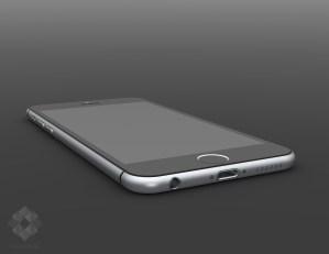 Gambar Render Digital iPhone 6 karya Mark Pelin ~ 4