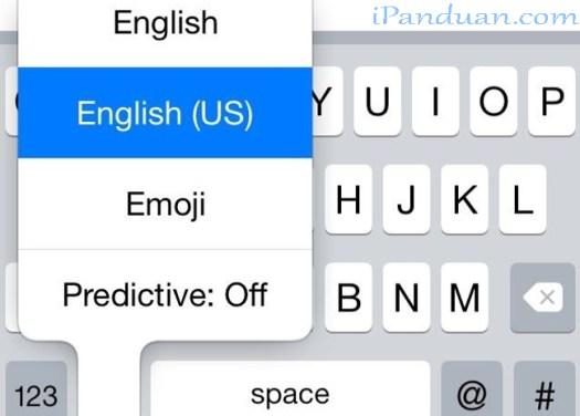 iOS8, TouchPal, aplikasi pihak ketiga
