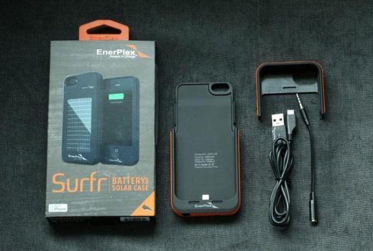 Enerplex Surfr, Powerbank, iPhone 5