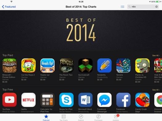aplikasi terlaris, facebook messenger, rating Apple
