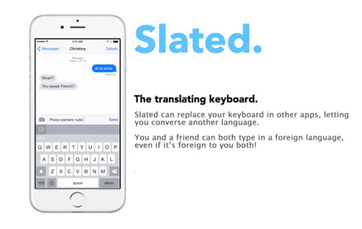 Slated Keyboard, Aplikasi Gratis, Google Translator