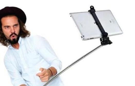 Tongsis, iPad