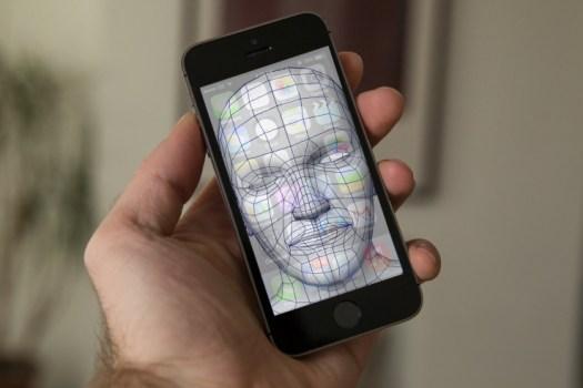 Facial Recognition 3D iPhone