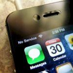 iPhone No Service