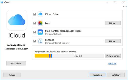 Cara Mudah Menggunakan iCloud Drive di Windows