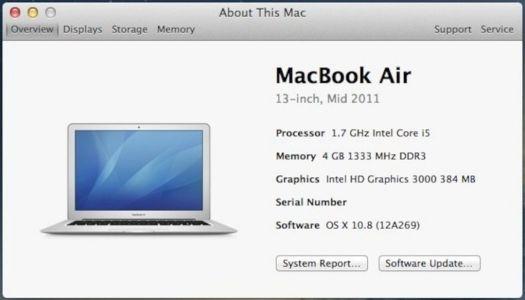 Cara Mengetahui Spesifikasi di Mac