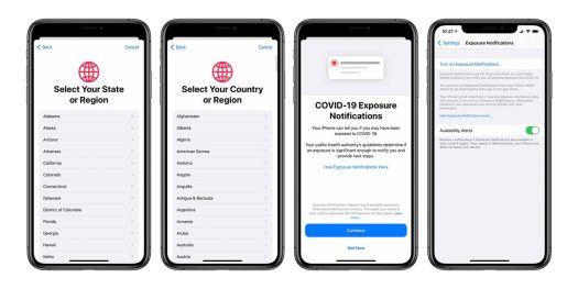 Fitur Pelacakan COVID 19 di iOS 13 7