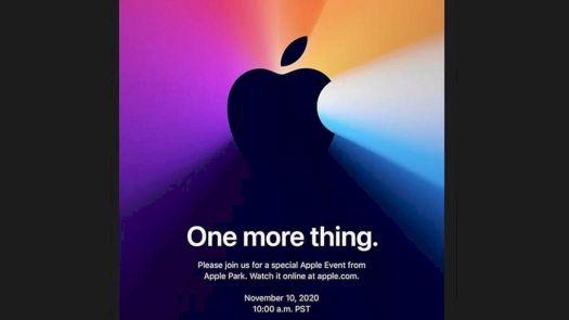 Apple akan Perkenalkan MacBook dalam Acara One More Thing