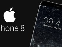 New concept for iPhone 8: curved display, thin frames and Dark Mode