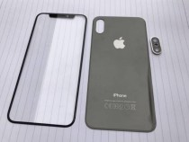 The first images of the glass panels of the iPhone 8?