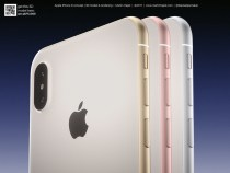 Martin Hajek publishes new iPhone 8 rendering in various colors