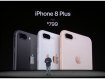 Apple presents iPhone 8 and iPhone 8 Plus with glass back