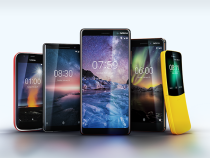 """MWC 2018 – Nokia presents five phones, there is also the """"banana"""""""