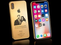 Royal Wedding: Goldgenie makes an iPhone X in 24K gold with a picture of Harry and Meghan