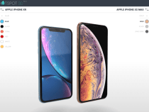 Watch and rotate 360 ​​° the new iPhone XS / XS Max and iPhone XR through very faithful 3D renderings