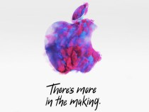 Apple: the next event will be held on October 30th