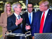 Tim Cook gave Trump the first Mac Pro produced in the United States