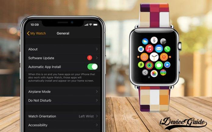how to downgrade watchos apple watch