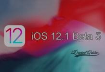 Apple releases iOS 12.1 Beta 5