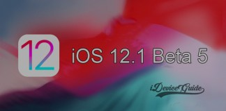 Apple releases iOS 12.1 Beta 5