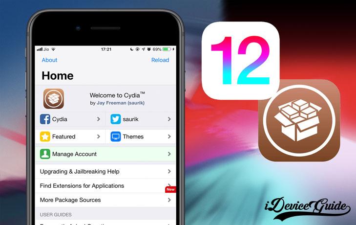 Tous les tweaks compatibles iOS 12.4
