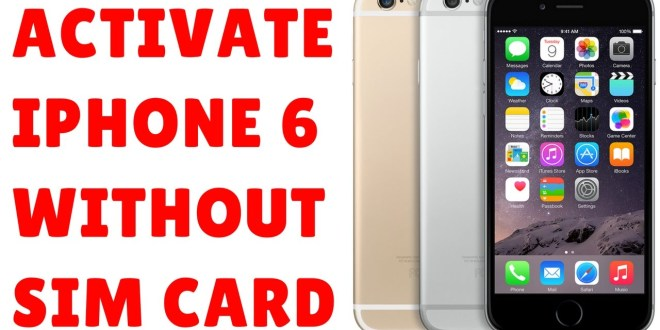How To Bypass Sim Lock Activation For Ios 10 On Iphone 6