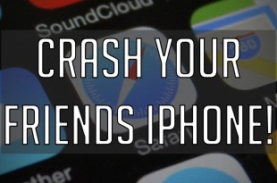 New text message will crash any iphone