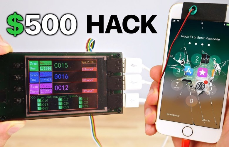Find or hack iphone passcode on latest iOS firmware