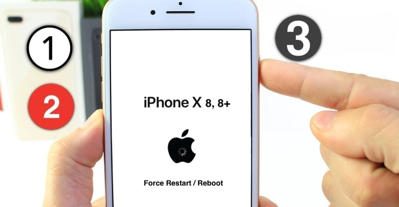 How force reboot or hard reset iPhone x