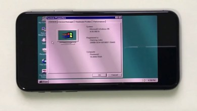 windows95 on iphone x