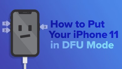 iPhone 11 (Pro Max) - Force Restart, Recovery Mode, DFU Mode