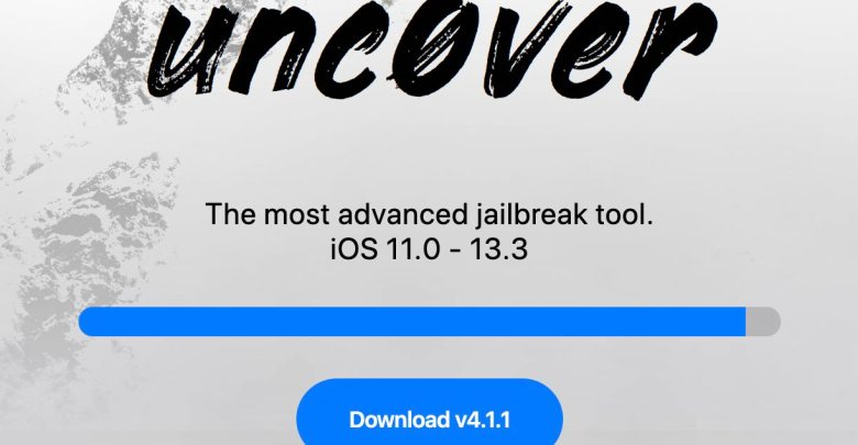 Jailbreak Unc0ver v4.1.1 is OUT with 99% exploit reliability for iOS 13.0-13.3