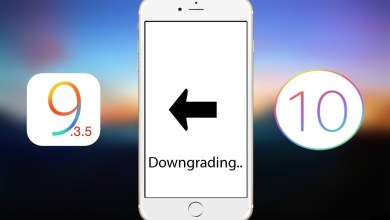 Downgrade iOS 10.0.2 - IOS 9.3.5