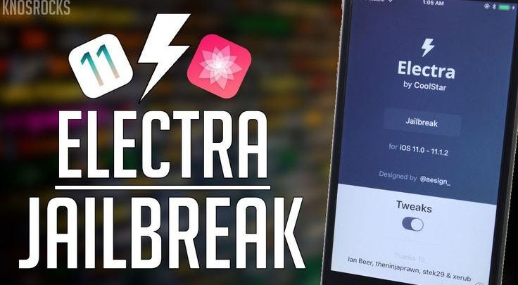 How to Jailbreak iOS 11-11.1.2 Electra by Coolstar - iPhone X supported!