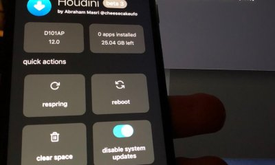 Houdini semi-jailbreak ported to iOS 12 firmware.