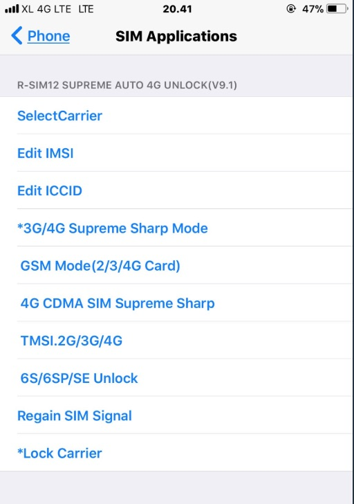 RSIM 12, RSIM 14 - Activation Error (SOLVED)! - Apple iCloud