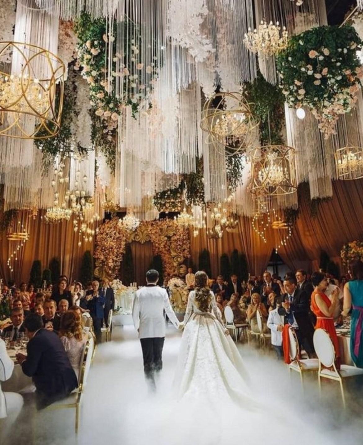 Inilah Dekorasi Pernikahan Mewah Dengan Anggaran Terjangkau